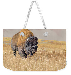 Yellowstone King Weekender Tote Bag
