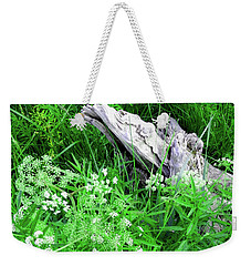 Yellowstone Lace Weekender Tote Bag