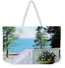 Yellowstone Lake			 Weekender Tote Bag by Ann Johndro-Collins
