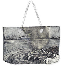 Yellowstone Lake Weekender Tote Bag