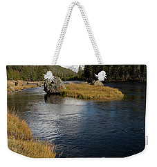 Yellowstone Nat'l Park Madison River Weekender Tote Bag
