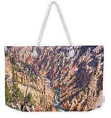 Yellowstone River Weekender Tote Bag