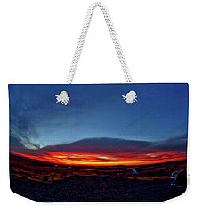 Yellowstone Sunset Weekender Tote Bag