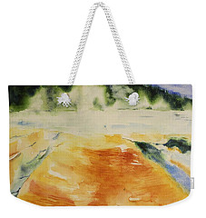Yellowstone, Watercolor Gift, Souvenir  Weekender Tote Bag