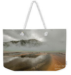 Weekender Tote Bag featuring the photograph Yellowstone's Beauty by Sue Smith