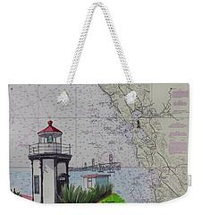 Yerba Buena Island Lighthouse Weekender Tote Bag