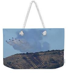 Yes Baby, Angels Do Make Shadows Weekender Tote Bag