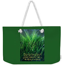 Yesterday And Tomorrow Weekender Tote Bag