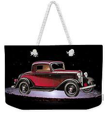 Yesterdays Car Of Tomorrow Weekender Tote Bag