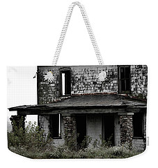 Weekender Tote Bag featuring the photograph Yesterdays Front Porch by Melissa Lane