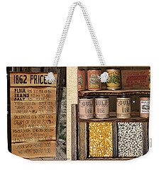 Yesteryear Groceries Weekender Tote Bag