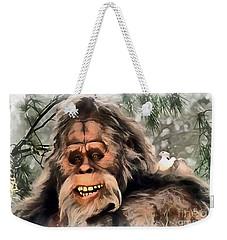 Yeti Weekender Tote Bag by Sergey Lukashin