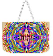 Yhwh Mandala 3 18 17 Weekender Tote Bag by Hidden Mountain
