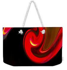 Yin Yang Weekender Tote Bag by Bill Owen