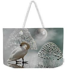 Yinyang - Moon Weekender Tote Bag
