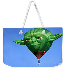 Yoda In The Sky Weekender Tote Bag