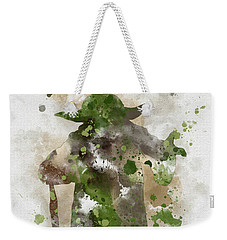 Yoda Weekender Tote Bag by Rebecca Jenkins