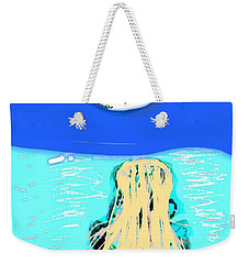Yoga By The Sea Under The Moon Weekender Tote Bag