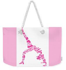 Yoga Pose Fine Art One-legged Weekender Tote Bag