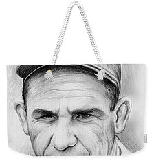 Yogi Berra Weekender Tote Bag
