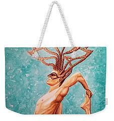 Yogi Weekender Tote Bag