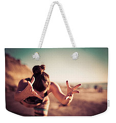 Weekender Tote Bag featuring the photograph Yogic Gift by T Brian Jones