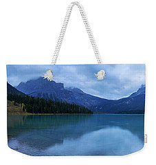 Weekender Tote Bag featuring the photograph Yoho by Chad Dutson