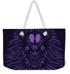 Yoni The Lion - Dark Weekender Tote Bag