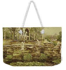York House Gardens Statues - Twickenham Weekender Tote Bag