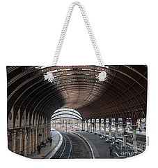 York Station 1 Weekender Tote Bag by David  Hollingworth
