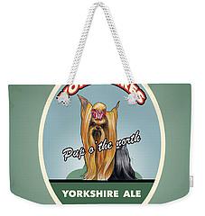Yorkshire Ale Weekender Tote Bag