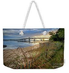 Yorktown Beach Sunrise Virginia Weekender Tote Bag