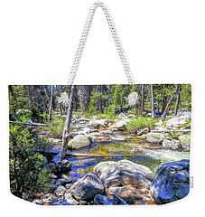 Yosemite Boulder Stream Weekender Tote Bag