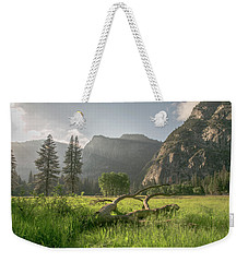 Sundown On The Valley Weekender Tote Bag