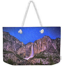 Yosemite At Night Weekender Tote Bag