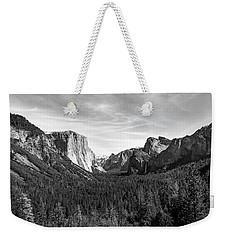Yosemite B/w Weekender Tote Bag