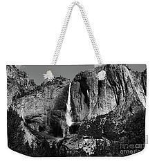 Yosemite Black Falls  Weekender Tote Bag