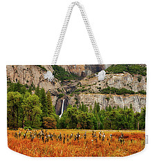 Yosemite Falls Autumn Colors Weekender Tote Bag