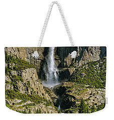 Weekender Tote Bag featuring the photograph Yosemite Falls by John Hight