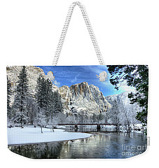 Yosemite Falls Swinging Bridge Yosemite National Park Weekender Tote Bag