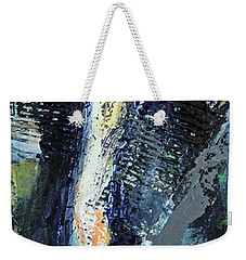 Weekender Tote Bag featuring the painting Yosemite Falls by Walter Fahmy
