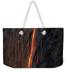 Yosemite Fire Falls - 2016 Weekender Tote Bag
