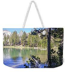 Yosemite Lake Weekender Tote Bag