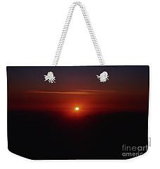 Yosemite Sunset Mountain Peak Weekender Tote Bag