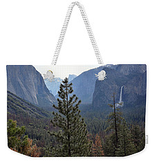 Yosemite Valley - Tunnel View Weekender Tote Bag