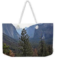 Yosemite Valley - Tunnel View Weekender Tote Bag