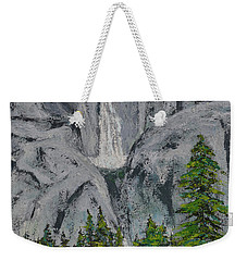 Yosemite Upper Falls Weekender Tote Bag