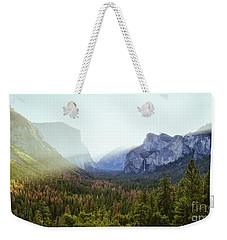 Yosemite Valley Awakening Weekender Tote Bag by JR Photography