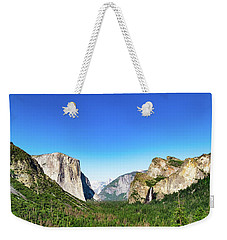 Weekender Tote Bag featuring the photograph Yosemite Valley- by JD Mims
