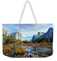 Yosemite Valley View Weekender Tote Bag